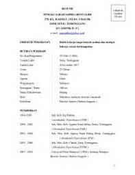 Resume Bm Professional Resume Of Hr Manager