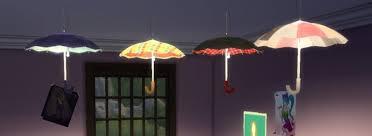 Umbrella Ceiling Light Biguglyhag Sims 4 Updates Best Ts4 Cc Downloads