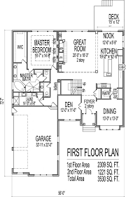 bright design 4 bedroom house plans one story with basement