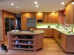 stylish and peaceful modern oak kitchen design wood cabinets solid