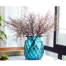 lianle 1 pcs artificial small tree dried branches green plants for