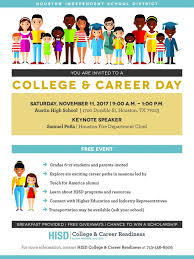 hisd college career ready day to be held at hs news