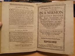 sermons on thanksgiving richard vines weddington castle