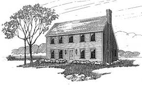 saltbox floor plan house colonial saltbox house plans