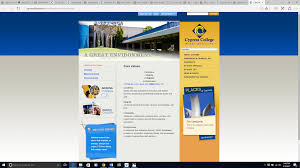 cypress college 2017 institutional self evaluation report