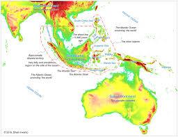 Map Of South China Sea Southeast Asia Atlantis In The Java Sea