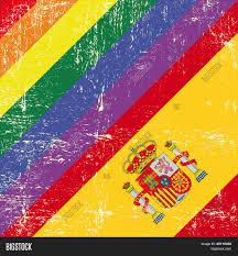 Spainish Flag Spanish Grunge Flag Mixed Vector U0026 Photo Bigstock