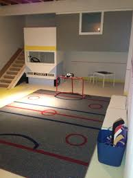 149323 420362088037916 1140249496 n jpg 320 240 pixels garage made a hockey playroom for a little boy treehouse slide airbrushed carpet