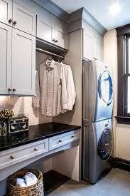 Pinterest Laundry Room Cabinets - best 25 stacked washer dryer ideas on pinterest washing dryer