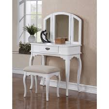 large modern bedroom dressing table with mirror