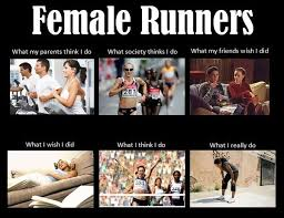 funny memes and images for women and girls who run funny running