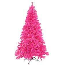 sale pink artificial christmas trees