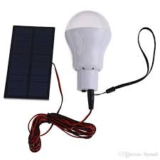solar powered outdoor light bulbs 2018 0 8w 5v portable solar powered led bulb l solar panel