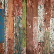 weathered wood wall weathered wood wall mural brewster home fashions touch of modern