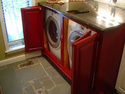custom washer and dryer cabinet by parkers custom hardwoods inc