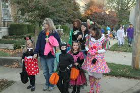 22nd annual third street halloween trick or treat