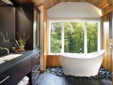 Spa Inspired Bathroom Designs Spa Inspired Master Bathrooms Hgtv