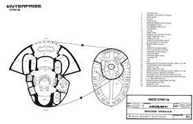 starfleet vessel galaxy class starship u s s enterprise ncc 1701 d