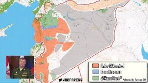 Map Of Russia And Syria by The Syria Ceasefire Begins Map Of Affected Areas