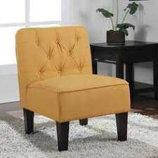 Tufted Slipper Chair Sale Design Ideas Anna French Yellow Chevron Fabric Accent Chair Overstock Com