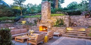 best 10 outdoor fireplace designs exterior house