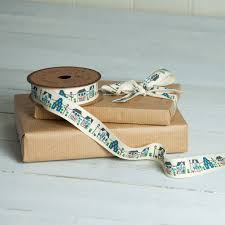 cottage garden printed ribbon dotcomgiftshop