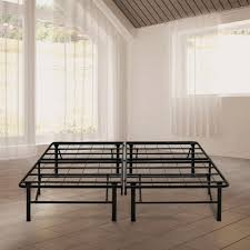 malouf structures high rise twin metal bed frame st22tthr the