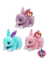 ty beanie boo babies plush soft toy easter 2017 bunny walker dash