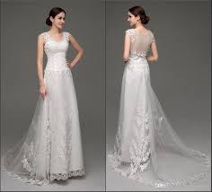 Elegant Wedding Gowns 2016 Lace Wedding Dresses Elegant Wedding Gowns Sheer Back