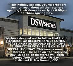 what is thanksgiving means what store refuses to open on thanksgiving day