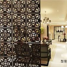 Hanging Room Divider Panels by Decorative Solid Wood Modern Tiles Partition Folding Wall Panels