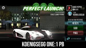 koenigsegg agra racing rivals koenigsegg one 1 pb perfect launch tutorial youtube