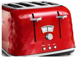 Toaster And Kettle Set Red Brilliante 4 Slice Toaster Toasters Delonghi Australia