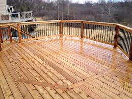 outdoor living deck designs from 2013 adding flair to a square