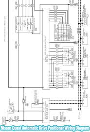 2012 nissan quest automatic drive positioner system wiring diagram