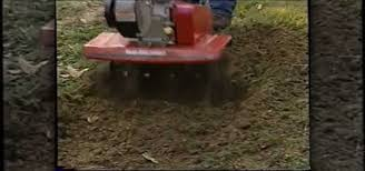 How To Regrade A Backyard How To Use A Rototiller To Level A Yard Home Appliances