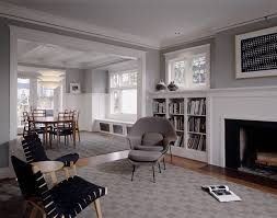 seattle dove grey paint living room traditional with seating area