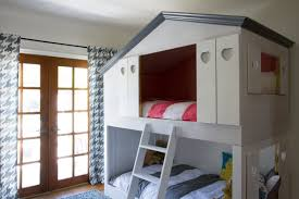 Plans For Building A Loft Bed With Stairs by Remodelaholic House Shaped Beds Galore
