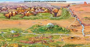 grand map southwest tours grand page las vegas grand