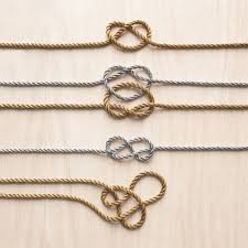 knots wedding registry how to tie knots for easy wedding projects martha stewart weddings