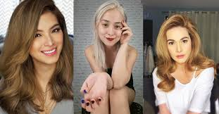 hair color for pinays the perfect blonde shade for a pinay like you kikay department