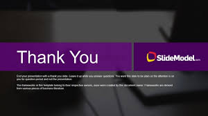 powerpoint presentation templates for thank you case studies thank you page slidemodel