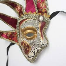 jester masquerade mask the phantom of the opera men half venetian jester masquerade