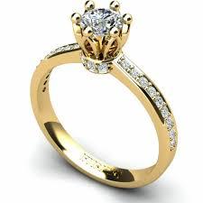 inel de logodna cu diamant inel de logodna cu diamant tip catedrala prins in 6 gherute firesq