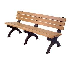 Park Bench Made From Recycled Plastic Park Bench Park Benches Park Furniture