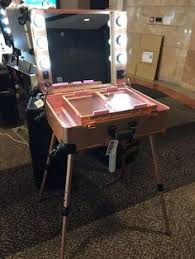 professional makeup artist lighting makeup trolley with lights makeup with lighting