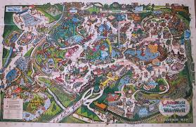 Six Flags Ma The Crazy World Of Honey Bunny Six Flags Astroworld Park Maps