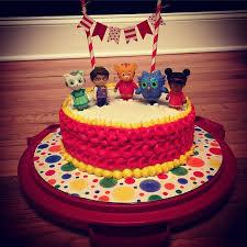 daniel tiger cake my s grriffic 2nd birthday talk