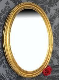 antiker spiegel gold spiegel wandspiegel oval antik gold daria 47 x 37 cm ebay