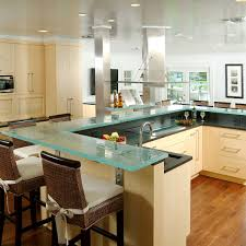 solid wood kitchen cabinets miami 37 glass countertop ideas glass top designs tips advice